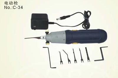 小直柄电动开锁枪一字锁快开工具